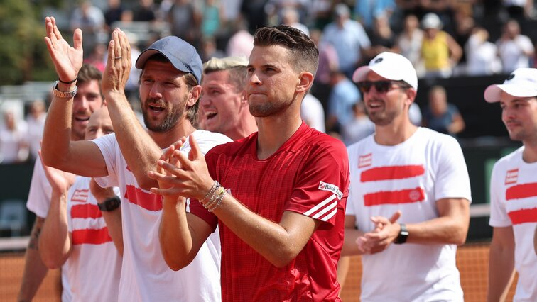 Dominic Thiem - ein echter Teamplayer