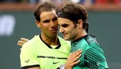 Rafael Nadal und Roger Federer in Indian Wells 2017