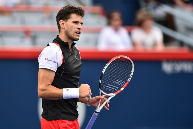 Dominic Thiem in Montreal