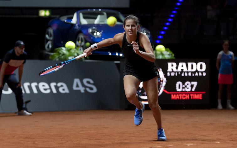 new product 05611 09df2 Porsche Tennis Grand Prix  Julia Görges gibt gegen Pavlyuchenkova ...