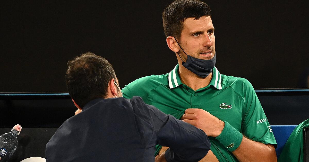 Australian Open: Novak Djokovic stellt Achtelfinal-Antreten in Frage - tennisnet.com