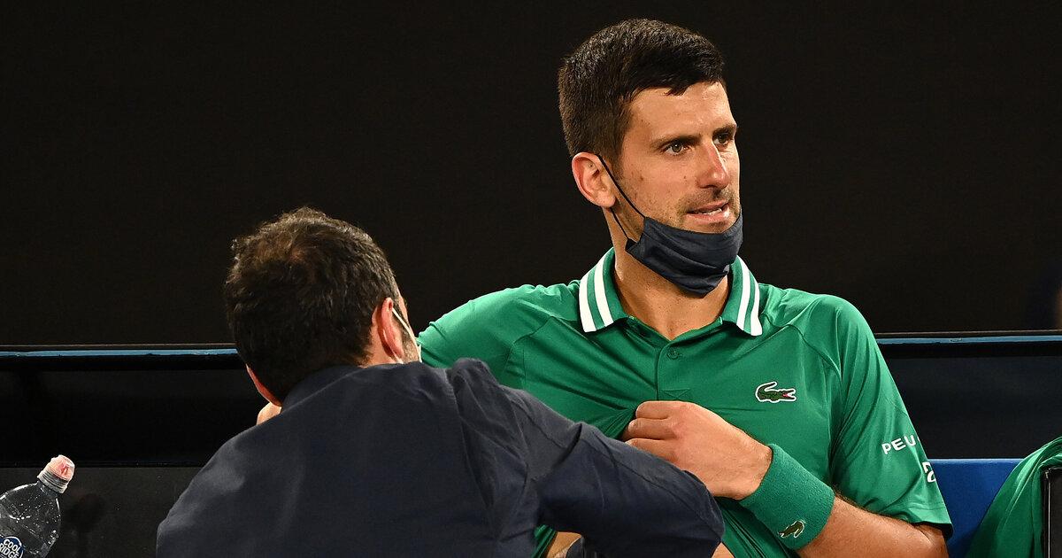 25-Millimeter-Riss: Novak Djokovics Verletzung hat sich verschlimmert - tennisnet.com
