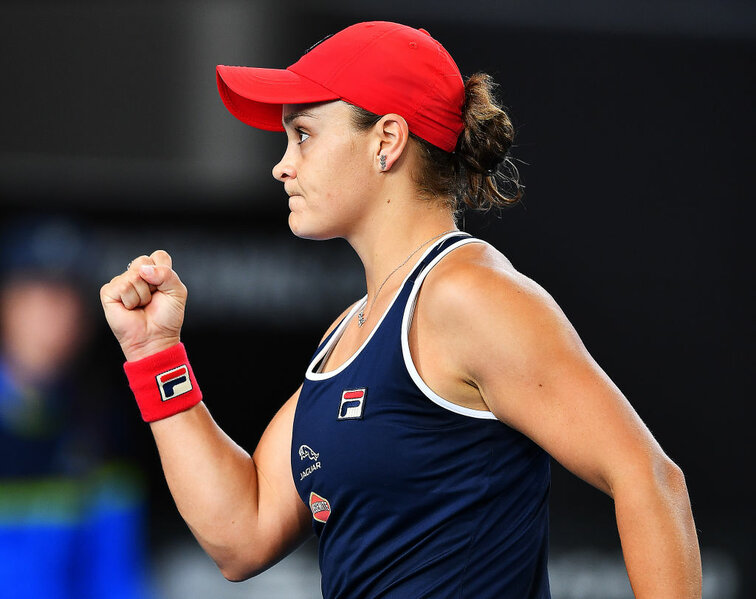 Ashleigh Barty in Adelaide