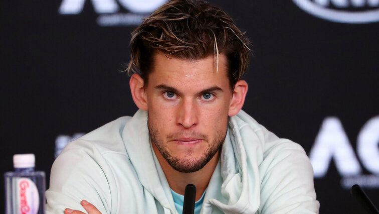 Dominic Thiem gave everything in Melbourne