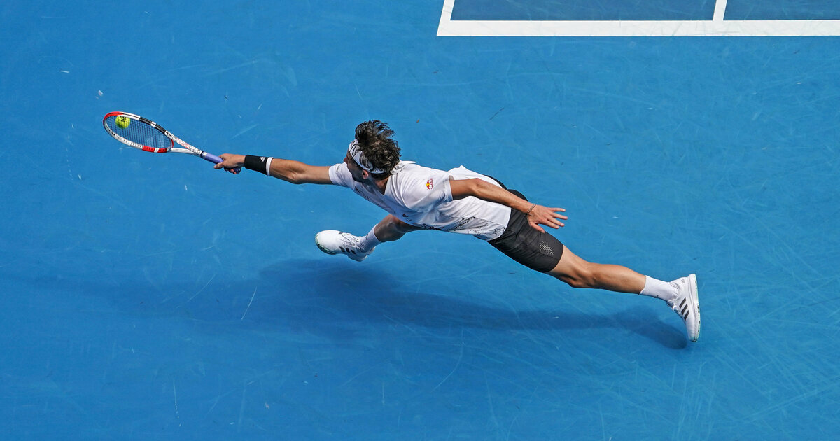 Australian Open: Stehaufmännchen Dominic Thiem –
