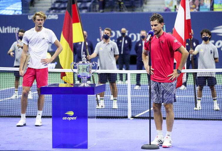 """Dominic Thiem über Alexander Zverev: """"Er ist echt ein guter"""