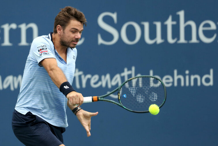 Stan Wawrinka in Cincinnati