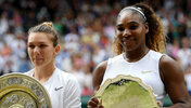 Simona Halep kann strahlen. Serena Williams? Not so much