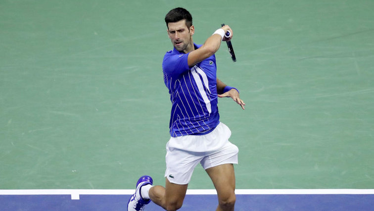 Us Open 2020 Novak Djokovic Disqualified Tennisnet Com