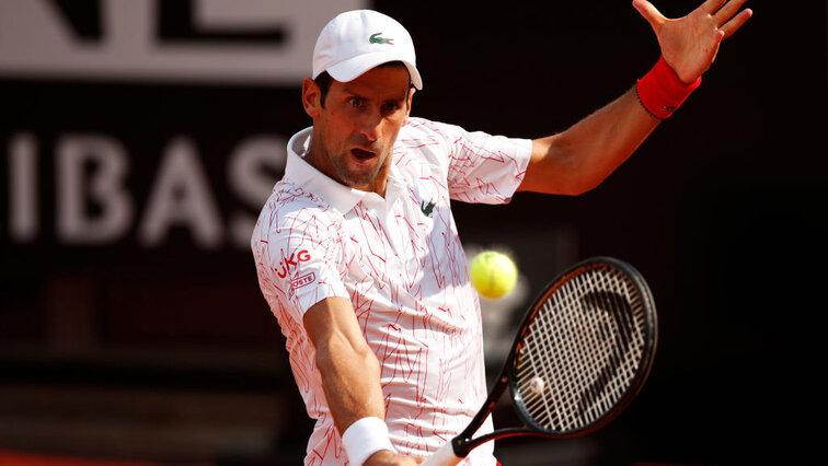 Atp Masters Rome Novak Djokovic Has To Stretch Against Dominik Koepfer Tennisnet Com