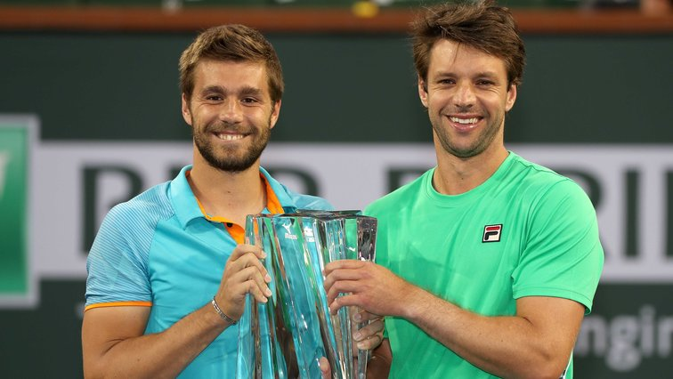 Nikola Mektic und Horacio Zeballos in Indian Wells