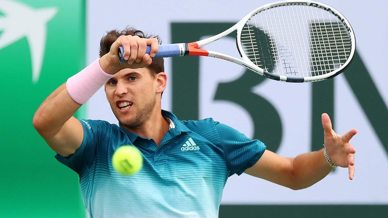 Dominic Thiem kommt in Indian Wells in Fahrt