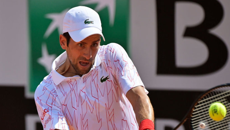 Atp Masters Rome Quarter Finals Novak Djokovic Defeats Brave Filip Krajinovic Tennisnet Com