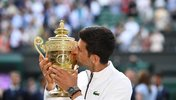 Novak Djokovic in Wimbledon