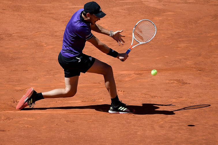 Dominic Thiem in Madrid