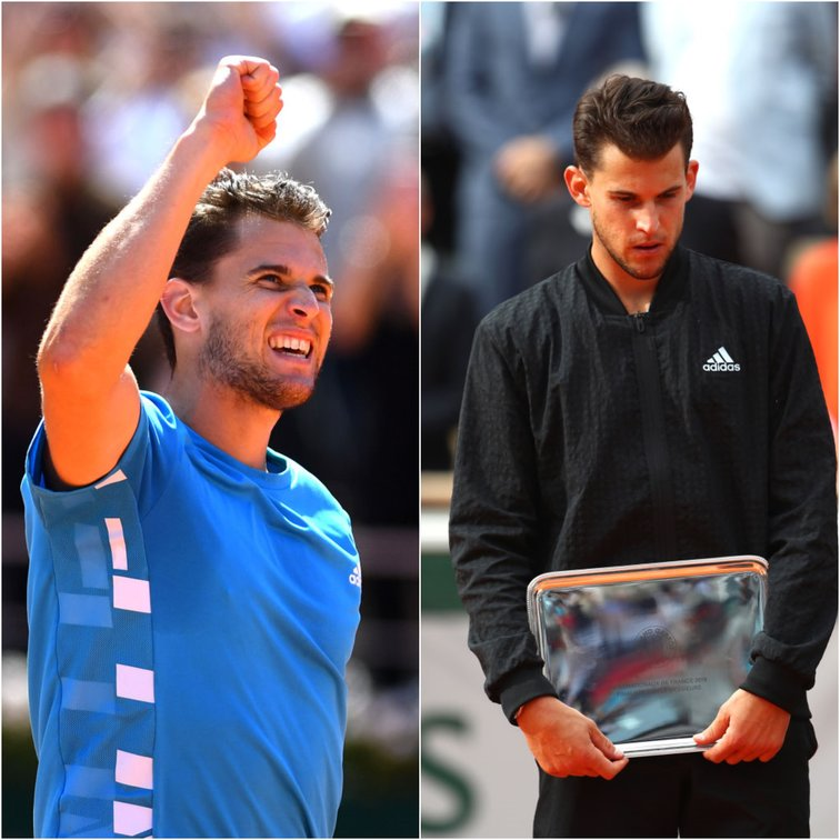 Dominic Thiem in Roland Garros