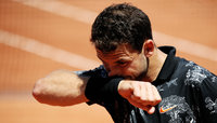 Grigor Dimitrov had to surrender his driver's license