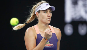Angelique Kerber had rarely prepared for the season