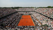 Der Court Philippe Chatrier bei den French Open