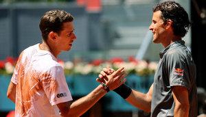 "ATP Masters Madrid: Dominic Thiem vor dem Match gegen John Isner - ""Oft außer Atem gekommen"""