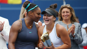 Serena Williams und Bianca Andreescu