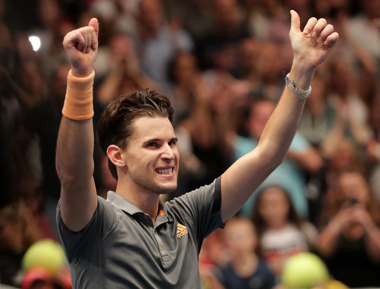 Dominic Thiem in Wien