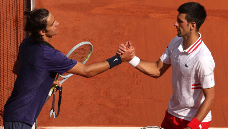 Wimbledon: Novak Djokovic brings Lorenzo Musetti with the private plane ·  tennisnet.com