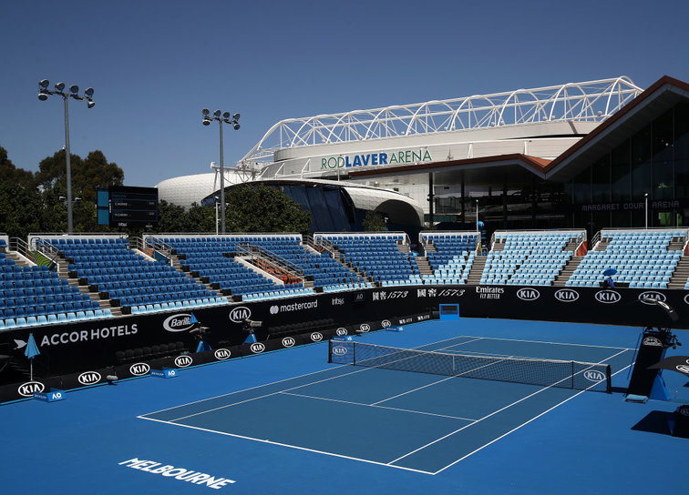 Australian Open Court 3 Equipped With A New Roof