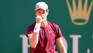 ATP Masters- Monte Carlo: Sinner, Fognini souverän weiter, Koepfer raus