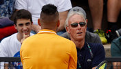 Nick Kyrgios im Gespräch mit Gerry Armstrong