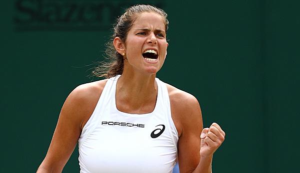 Julia Gorges Wimbledon Halbfinale Als Bestatigung Dass Sich Harte