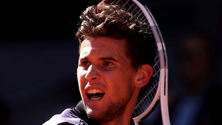Dominic Thiem war in Rom nicht happy