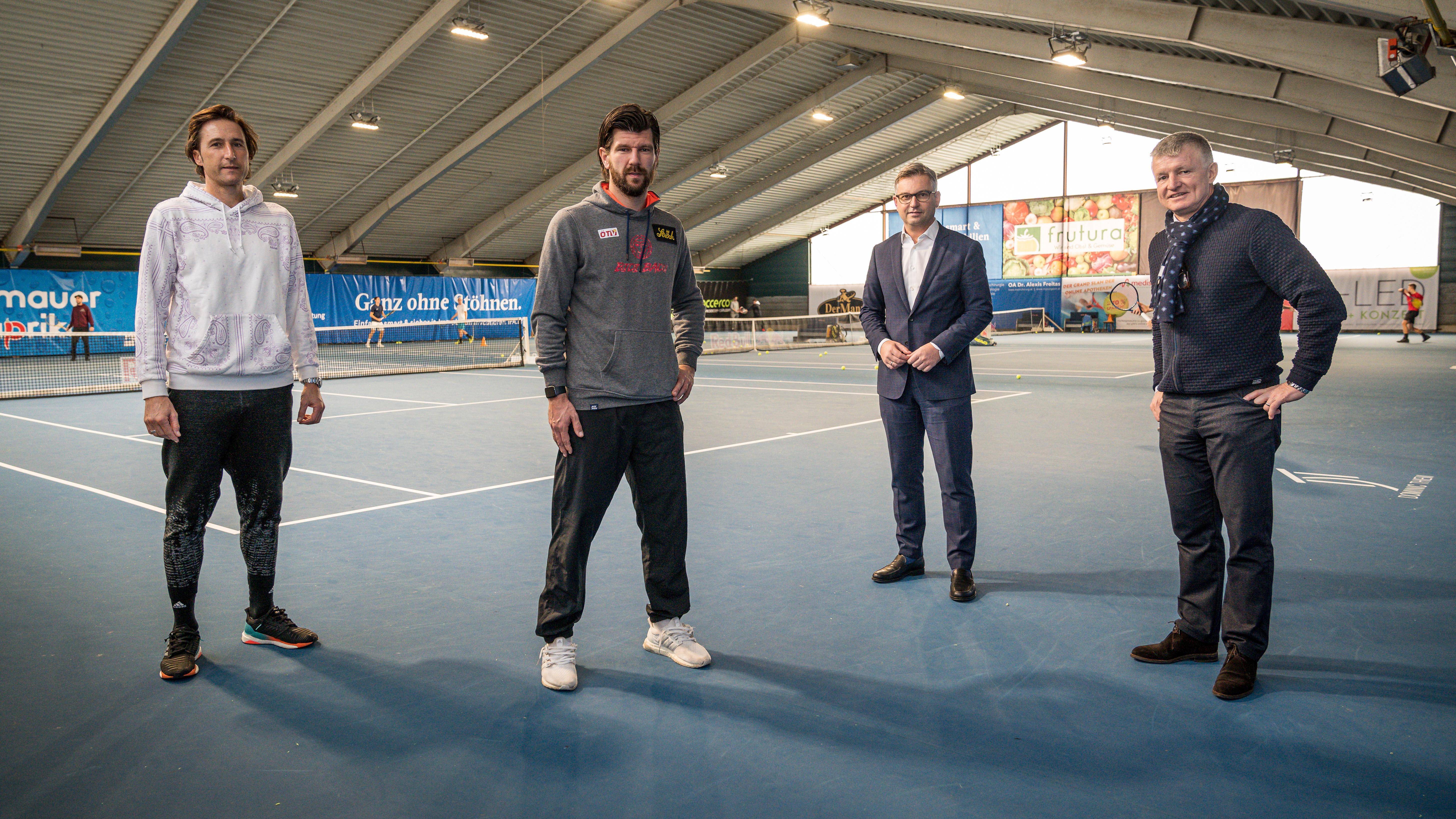 """ÖTV-Präsident: """"Tennis muss bei den ersten Öffnungen dabei sein"""""""